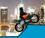 Motorcu Ninja Zorlu Parkur