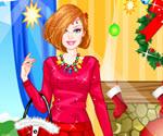 Barbie Yılbaşı Giydirme