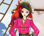 Korsan Kız Giydirme