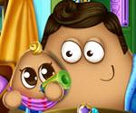Pou Bebek Bakımı