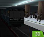 3D Metro Similasyonu