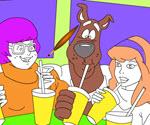 Scooby Doo ve Arkadaşları Boyama