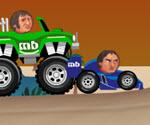 Sporcu Kafalar Araba Yarışı