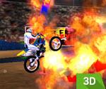 Tehlikeli Motor Gösterisi 3D