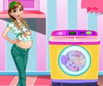 Anna Frozen Çamaşır Yıkama