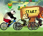 Kung Fu Panda Bisiklet Yarışı
