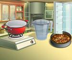 Mutfakta Kek Pişirme