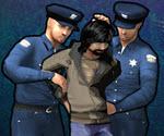 Polisten Koşarak Kaçma