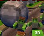 3D Taşla Zombi Ezmece