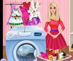 Barbie Çamaşır Yıkama