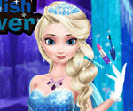 Elsa Frozen Makyaj ve Giydirme