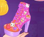 Hello Kitty Ayakkabı Süsleme