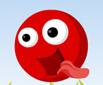 Kırmızı Zıp Zıp Top