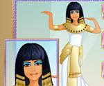 Mısırlı Kız Giydirme ve Makyaj