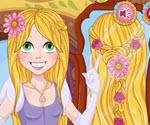 Rapunzel Saç Örme Oyunu
