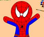 Oyuncak Örümcek Adam Boyama
