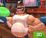 3D Sporcu Henk
