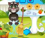 Bebek Tom Bahçe Temizliği