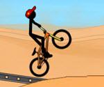 Çılgın Bisikletçi Çöp Adam