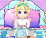 Bebek Elsa Yatak Odası Süsleme
