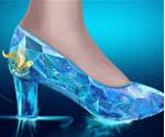 Kristal Ayakkabı Tasarımı