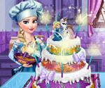 Elsa Düğün Pastası
