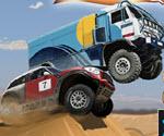 Çölde Araba Yarışı