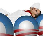 Obama Düşüyor