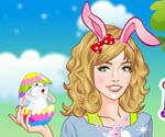 Tavşan Kız Giydir