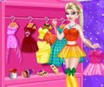 Elsa Giyinme Odası