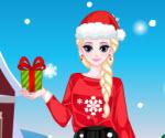 Prenses Elsa Yılbaşı Hazırlığı