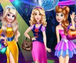 Disney Prensesleri Kıyafet Balosu