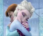 Elsa ve Anna Frozen Yapboz