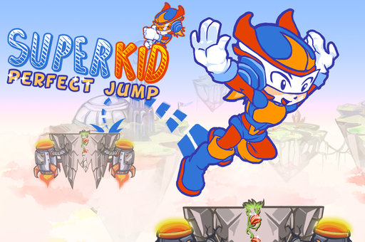 Süper Çocuk Mükemmel Zıplama