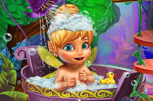 Peri Bebek Banyosu