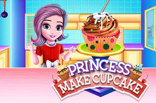 Prenses Cupcake Yapıyor