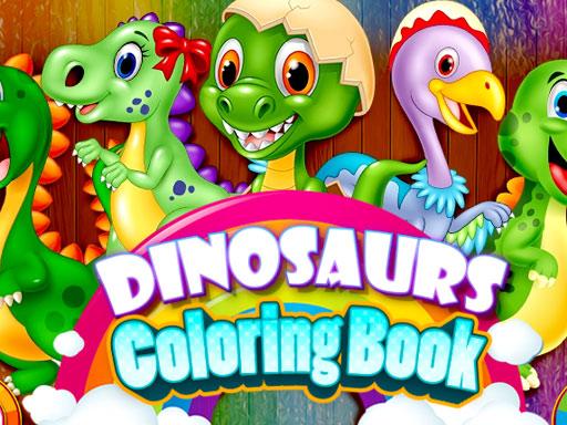 Dinozor Boyama Kitabı