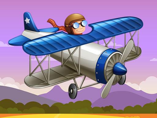 Eğlenceli Uçak Yapbozu