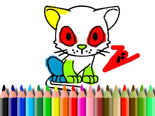 Kedi Boyama Kitabı