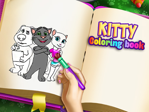 Kitty Coloring