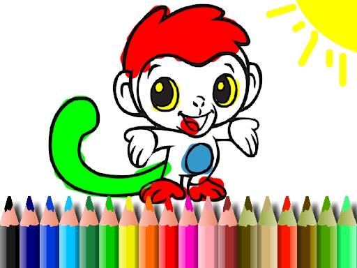 Maymun Boyama Oyunu Boyama Oyunlari