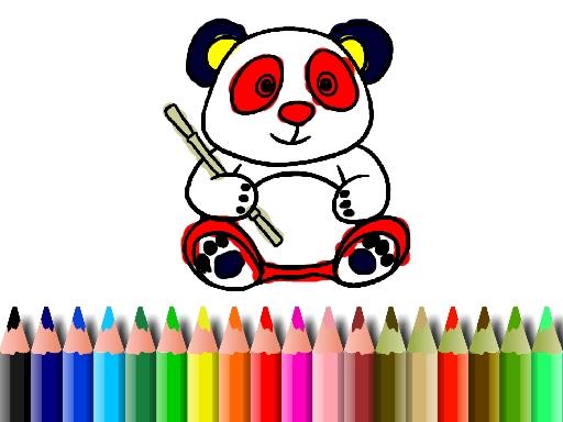 Panda Boyama