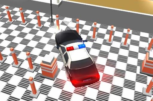 Polis Arabası Park Etme 3