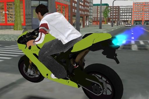 Motosiklet Park Etme