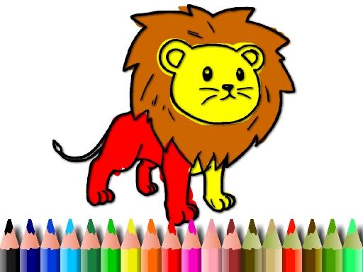 Aslan Boyama Kitabı
