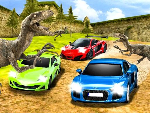 Dinozor Araba Yarışı