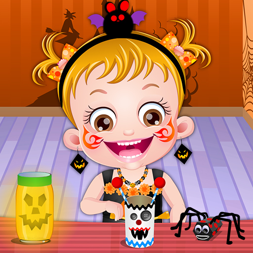 Bebeğin Cadılar Bayramı Aktivitesi