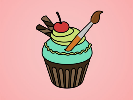 Cupcake Boyama