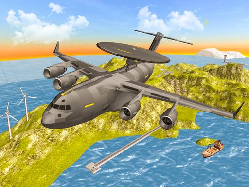 Savaş Uçağı Simülasyonu