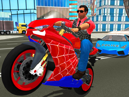 Spiderman Motosikleti